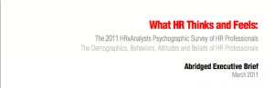 Get The Report: What HR Thinks & Feels